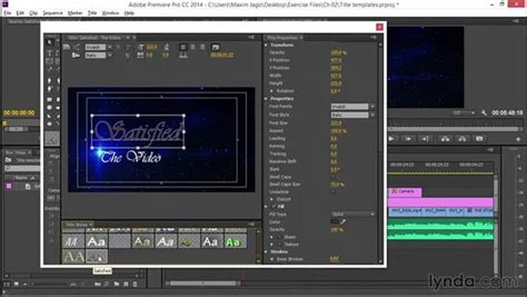 title templates premier working with title templates in premiere pro