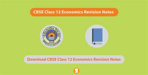 CBSE Class 12 Economics Revision Notes 2020 | Chapter-wise ...