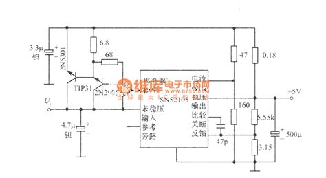 Regulated Power Supply Composed