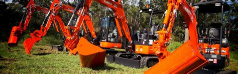 kubota excavators brisbane allclass construction equipment
