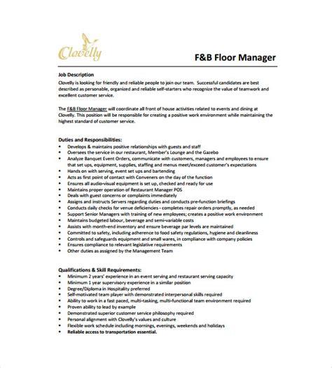Floorhand And Motorman Resume by Floor Duties And Responsibilities Thefloors Co