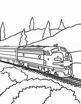 Train Coloring Trains Railroad Freight Drawing Csx Caboose Track Awesome Printable Passenger Template Bnsf Sheets Colorluna Getdrawings Locomotive Sketch Luna sketch template