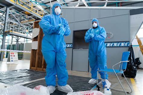 asbestos removal simulator construction training centre