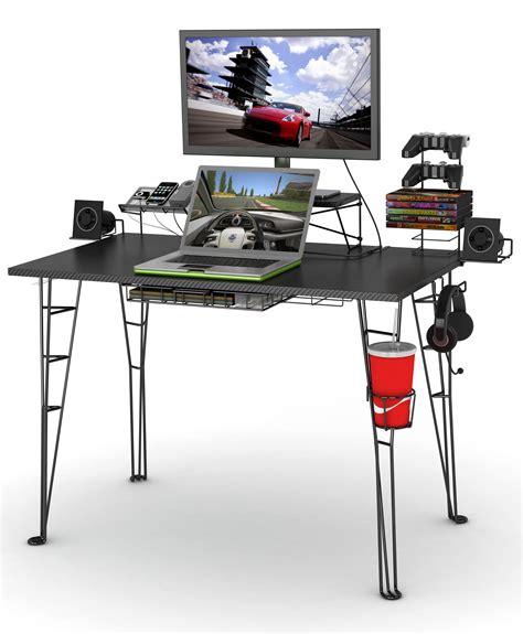 play desk for amazon com atlantic gaming desk gaming computer desk
