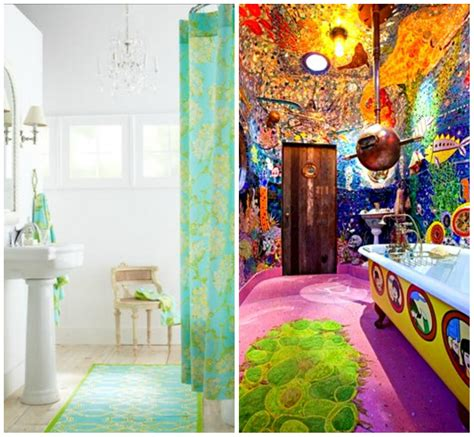 Colorful Bathroom Rugs Photos And Products Ideas