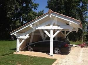 Abri Voiture En Bois : 25 best ideas about abris voiture bois on pinterest ~ Nature-et-papiers.com Idées de Décoration