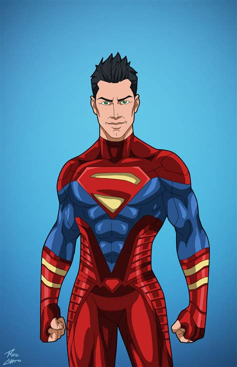 Superboy (earth27) Titan Commission By Philcho On Deviantart