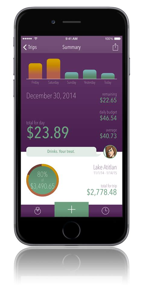 iphone wallet app trail wallet travel budget app and expense tracker