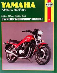 Xj650 Workshop Manual - Man012 - Manuals And Parts Books - Parts By Type