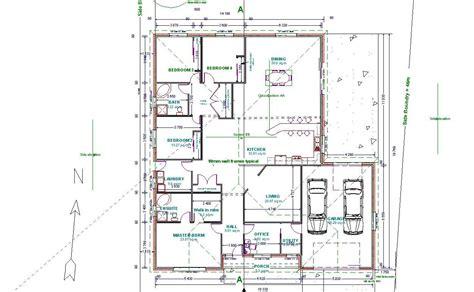 Autocad D Floor Plan