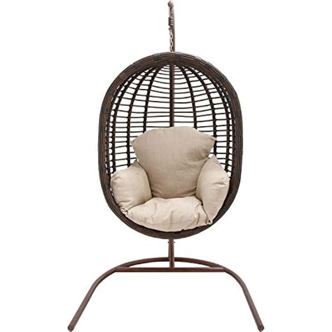 hanover outdoor furniture rattan wicker pod swing chair