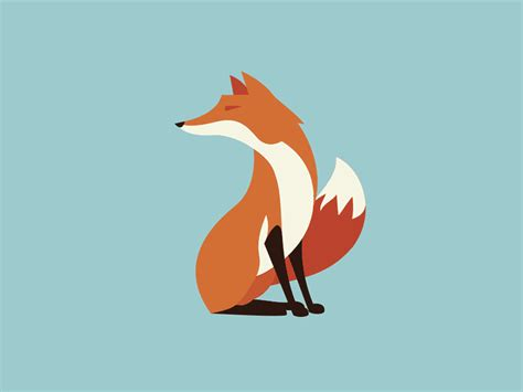 Animated Fox Wallpaper - wiley fox by petrick dribbble dribbble