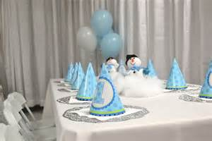 Winter Onederland Party Decorations