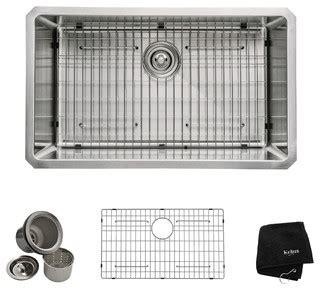 kitchen cabinet for sink single bowl 16 undermount kitchen sink stainless 5411