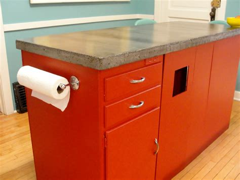 diy kitchen island countertop building and installing diy concrete countertops elly s 6847