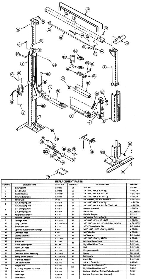 2 rotary lift parts wiring diagram rotary lift wiring diagram pictures to pinterest pinsdaddy