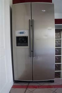 Frigo Americain Largeur 80 Cm : petit frigo americain frigo am ricain whirlpool clasf frigo americain petit choix d 39 lectrom ~ Melissatoandfro.com Idées de Décoration