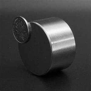 50mm x 30mm N52 Super Strong Round Magnet Large Neodymium ...