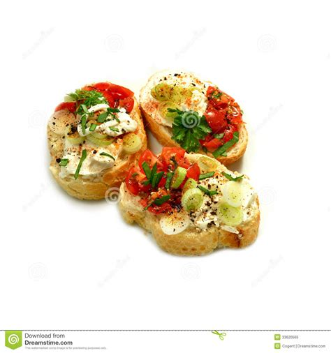 m and s canapes canapes finos foto de stock royalty free imagem 33620565