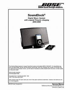 Bose Sounddock Service Manual Download  Schematics  Eeprom