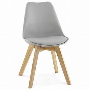 Chaise Moderne Design : chaise moderne style scandinave sirene gris ~ Teatrodelosmanantiales.com Idées de Décoration