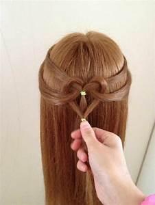 Coiffeuse En Bois Petite Fille : coiffure noel pour petite fille coiffure soir abc coiffure ~ Teatrodelosmanantiales.com Idées de Décoration
