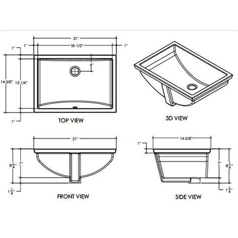 dimensions of a kitchen sink rectangular bathroom sink sizes bathroom design ideas 8701