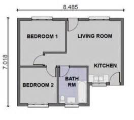 2 bedroom home plans 2 bedroom house plans modern speedchicblog