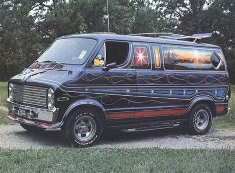Rock'n'roll On Wheels The 1970's Custom Van Craze Team