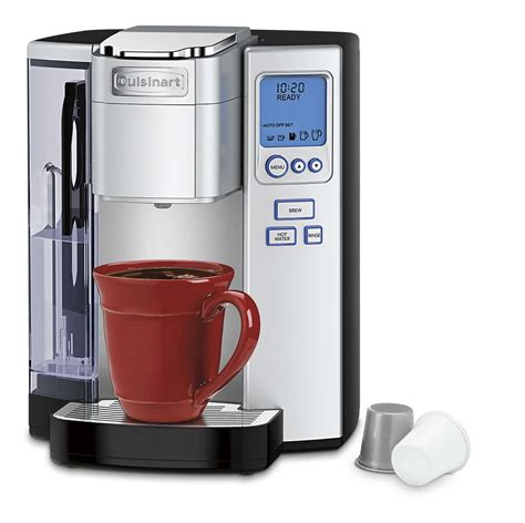 Single serve machines, however, are pretty standard in this regard. 5 Best Single Serve Coffee Makers in 2019 - Keurig K Cup Pods, Cuisinart & Hamilton Beach