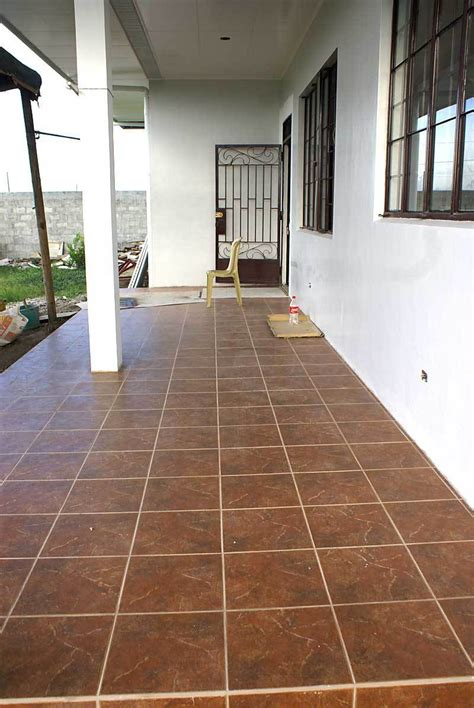 Porch Tiles by Our Philippine House Project Tiling My Philippine