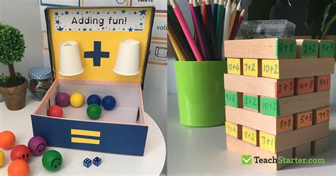 10 Easy, Simple Addition Activities For Kids  Teach Starter Blog