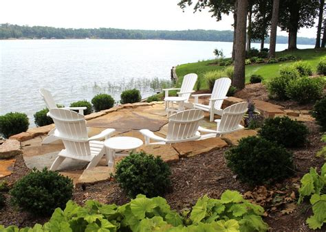rustic outdoor furniture near me lakefront patio patio style with flagstone pavers