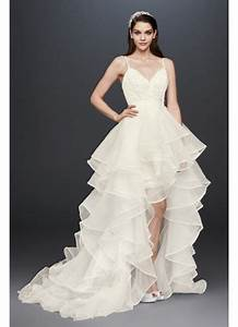 beaded lace and organza two piece wedding dress david39s With two piece wedding dresses david s bridal