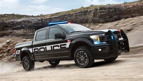 2018 ford F150 Police Responder fx4   The Fast Lane Truck