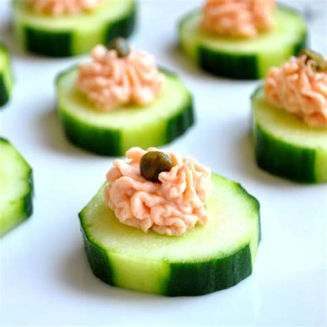 mousse canapé salmon canapes recipe dishmaps