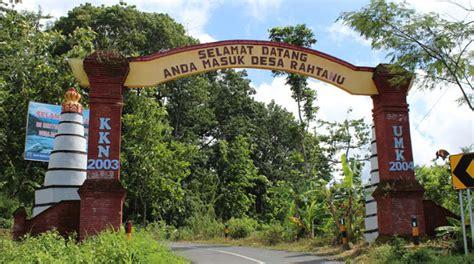desa rahtawu tawarkan objek wisata aliran sungai