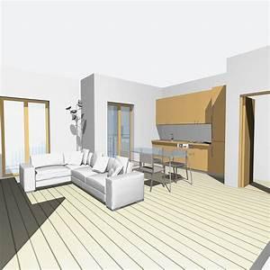 Casabook Immobiliare: Zona giorno open space e bagno più funzionale