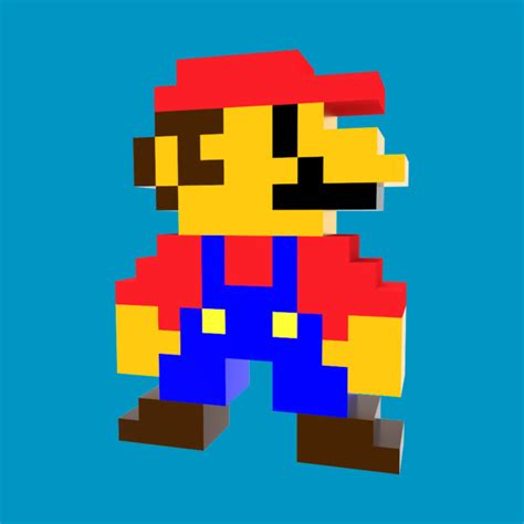 8 Bit Mario Mario Bros T Shirt Teepublic