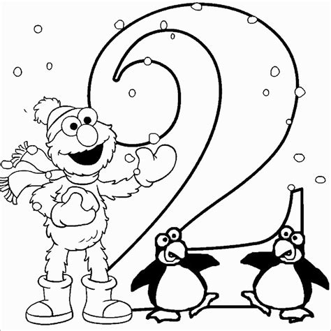 number  coloring pages coloringbay