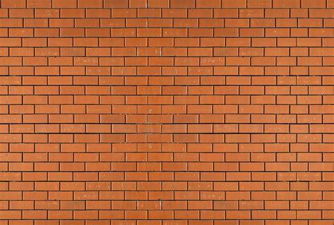 decoration pour chambre d ado papier peint trompe l 39 oeil mur de brique orange