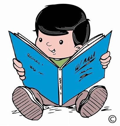 Clipart Reading Clip Child Clipartion