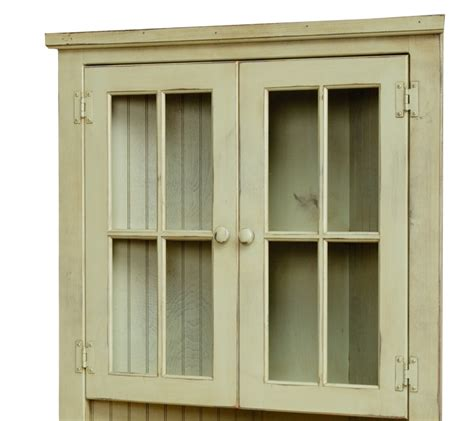 Cupboard Glass Doors by Farmhouse Corner Cupboard With Glass Doors Farmhouse And