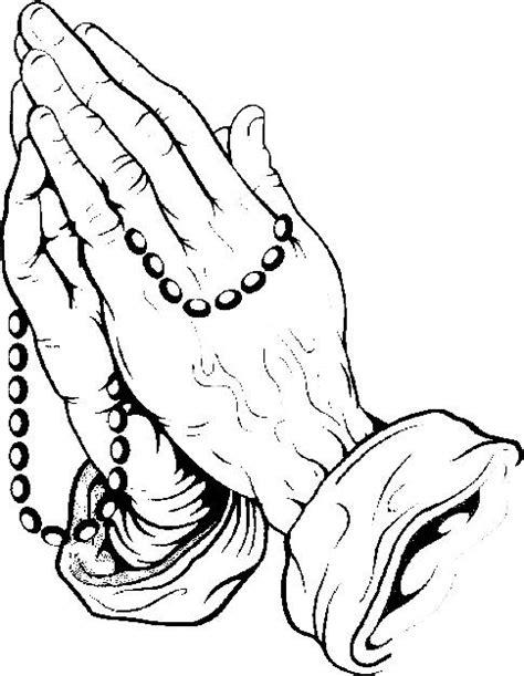 Praying Hands Line Drawing at GetDrawings | Free download