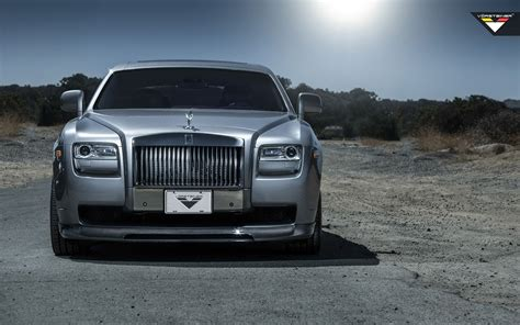 2014 Vorsteiner Rolls Royce Ghost Silver Wallpaper