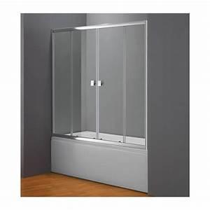 Rideau Baignoire Rigide : paroi verre baignoire maison design ~ Nature-et-papiers.com Idées de Décoration