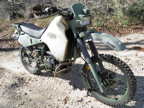 Kawasaki 2000 Klr650 Iraq War Us Marine M1030 Motorcycle