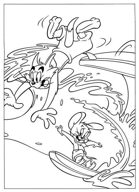 Kleurplaat Lta by Tom And Jerry Printable Coloring Pages Sketch Coloring Page