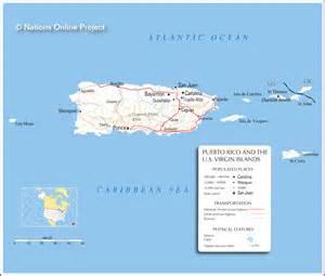 Puerto Rico World Map
