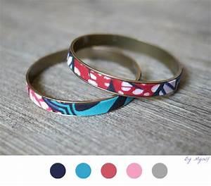 bracelet wax afraicain diy bijoux jewelry tuto With robe fourreau combiné avec bracelet tissu liberty